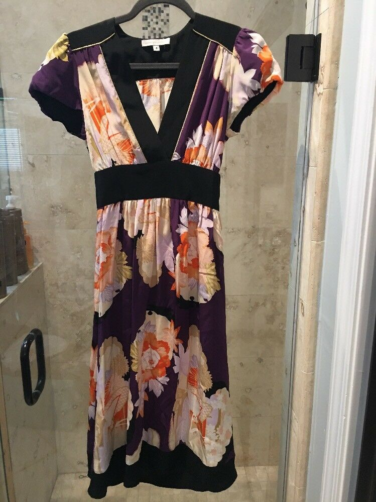 Anthropologie Silk Dress by corey lynn calter 4  298 RARE  SOLD OUT