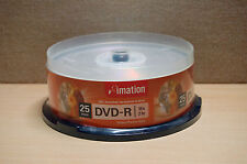Imation Storage media ‑ DVD‑R ‑ 4.7 GB - Spindle of 25 - BRAND NEW & SEALED