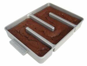 Nonstick Bakeware & Ovenware Edge  Brownie Pan Cake Baking Kitchen Cookware