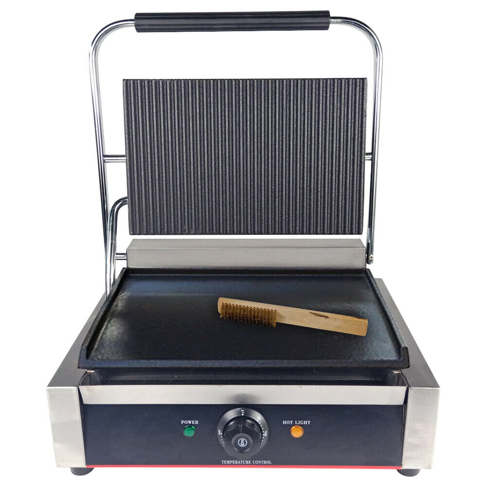 Electric panini GRILL CONTACT PRESSE Barbecue Grill Crêpière Sandwich Grille-Pain Maker