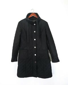 d3c7cfeca39d0 MAX MARA WEEKEND Womens Parka Jacket Coat Black Light Padding size ...