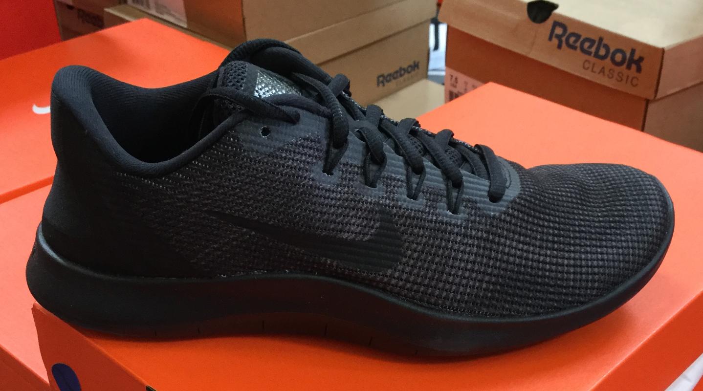NIKE Flex 2018 RN Men's Running shoes Black Dark Grey AA7397 002 Sz8-13 K