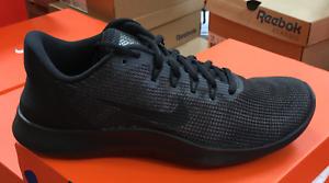 e569aaeed5b705 NIKE Flex 2018 RN Men s Running Shoes Black Dark Grey AA7397 002 Sz8 ...