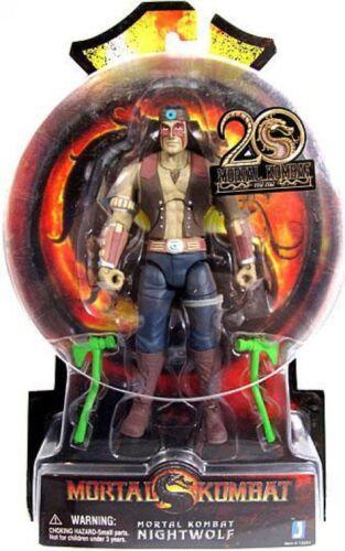 Mortal Kombat 20th Anniversaire nightwolf Action Figure