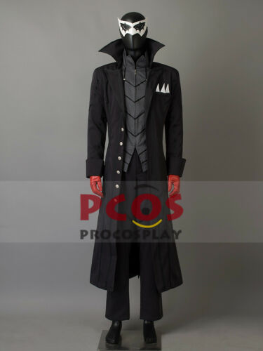 Persona 5 Joker Akira Kurusu Cosplay Costume /& Eye mask mp003711