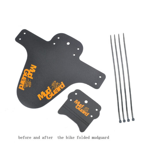 1 Pair Mountain Bike Bicycle MTB Front Rear Mudguard Lightest Bicycle Fenders