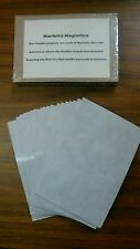200 Self Adhesive Flexible Magnetic Sheets 4x6 inches