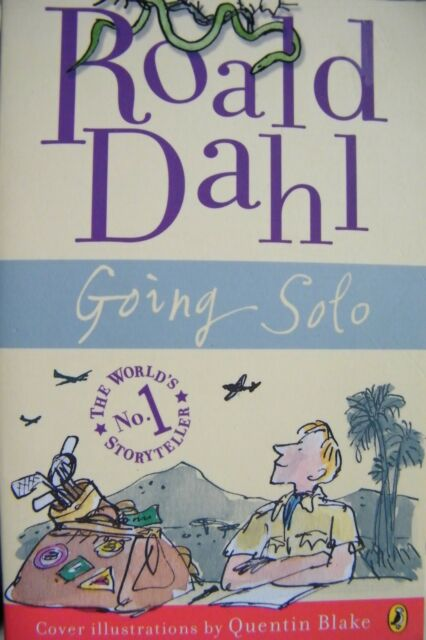 Going Solo Roald Dahl  Softcover