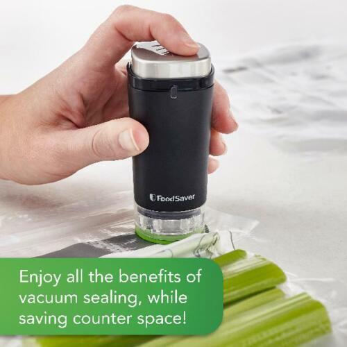FoodSaver Cordless Handheld Vacuum Sealer Food Saver Sealing Package Machine