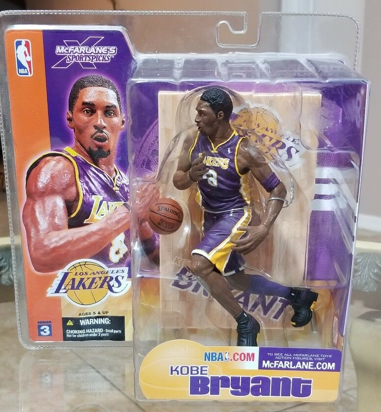 McFarlane Sports NBA Basketball Series 3 Kobe Bryant Action Figure
