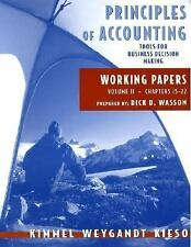 Principles of Accounting, with Annual Report, Working Papers, Vol. II, Paul D. K