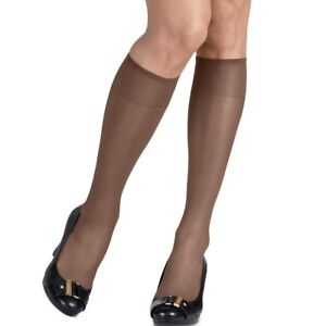 5419e5152 2-Pack Hanes Silk Reflections Silky Sheer Knee Highs - 10 NEW COLOR ...