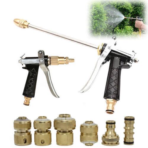 "Garden Watering Irrigation Car Water Hose Pipe Tap Adaptor Connector 1//2/"" 3///'4/"""