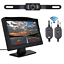 "5/"" Monitor Car Rear View System Backup Reverse Camera Night Vision Kit Wireless"