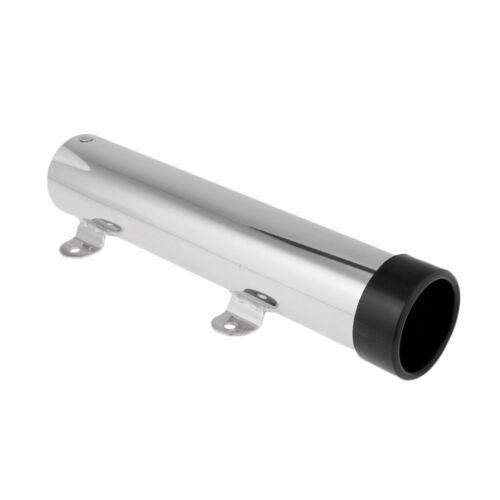 316 Stainless Steel Rod Holder Flush Mount Marine Fishing Rod Fixed Holder