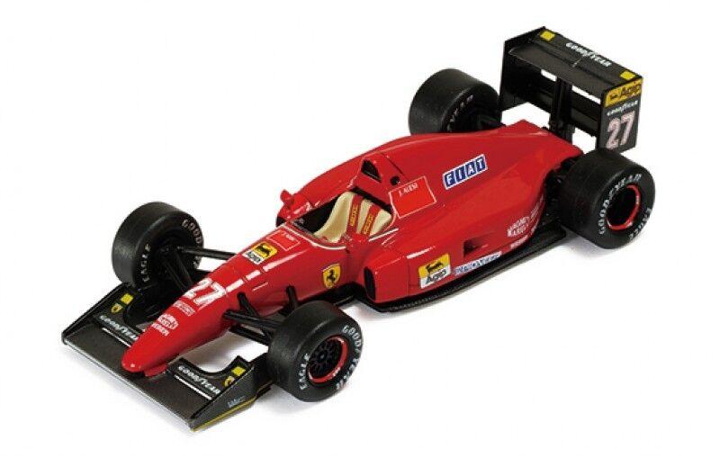 Ferrari La Storia 1 43 43 43 Colección Ferrari F92A francés GP 1992 J. Alesi 59510c