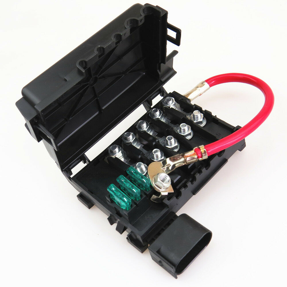 Details about Car Battery Fuse Box For VW Golf Bora Jetta MK4 Beetle on beetle fuse box, 2002 vw beetle battery box, vw beetle fuse arrangement,