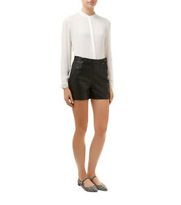 NEW-TAG-REISS-039-WONDER-039-IVORY-100-SILK-LACE-TRIM-BLOUSE-SIZE-10-RRP-145