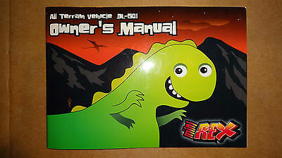 dinli genuine oem mini rex owners manual dl - 501 rare new! masai ... jp50 wiring diagram dinli  ebay