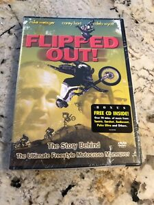 DVD PROMO FLIPPED OUT WITH BONUS CD INSIDE RARE PROMO NEW SEALED