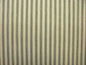 Charcoal-Grey-amp-Cream-COTTON-CANVAS-French-Ticking-Fabric-Extra-Wide-Width-214cm