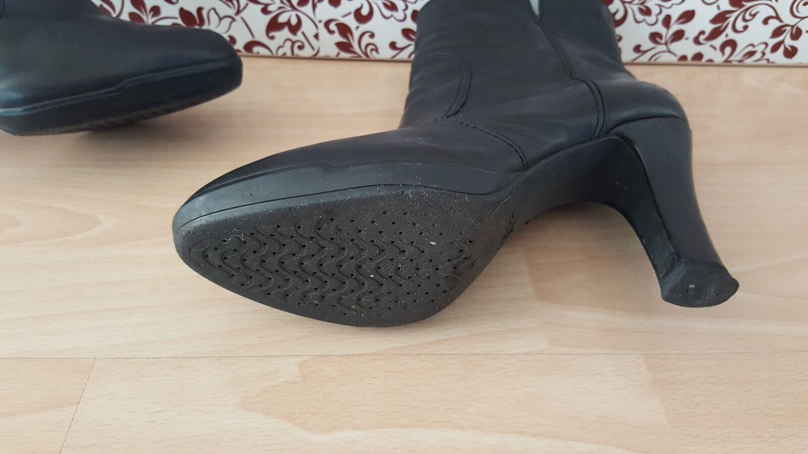 Damenschuhe Stiefeletten Gr.39 Geox Geox Geox Leder 7ba8c6