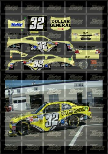 NASCAR 1//24 DECALS 2011 NWS #32 MARK MARTIN DOLLAR GENERAL TOYOTA CAMRY