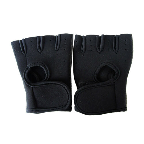 Unisex Weight lifting Cycling Gym Bike Outdoor Fishing Half finger Sports Gloves