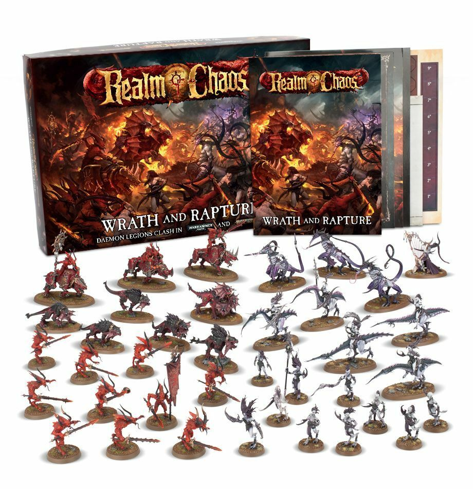 Warhammer Realm of Chaos  Wrath and Rapture  ENGLISH
