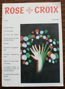 ROSE-CROIX-Revue-N-108-de-1978-Ordre-rosicrucien-mondial