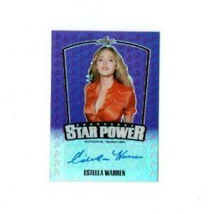 2015 Leaf Pop Century Estella Warren Authentic Signature Card SP-EW1 NM/MT 11/15
