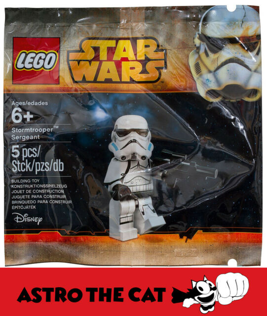 LEGO Star Wars 5002938 Stormtrooper Sergeant Poly Bag - Brand new