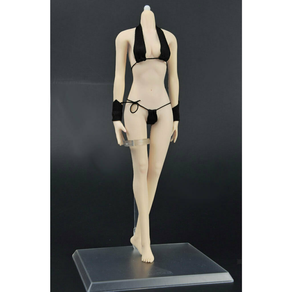 1 6 Scale White Skin Female Seamless Body Action Figure for Phicen Clothes