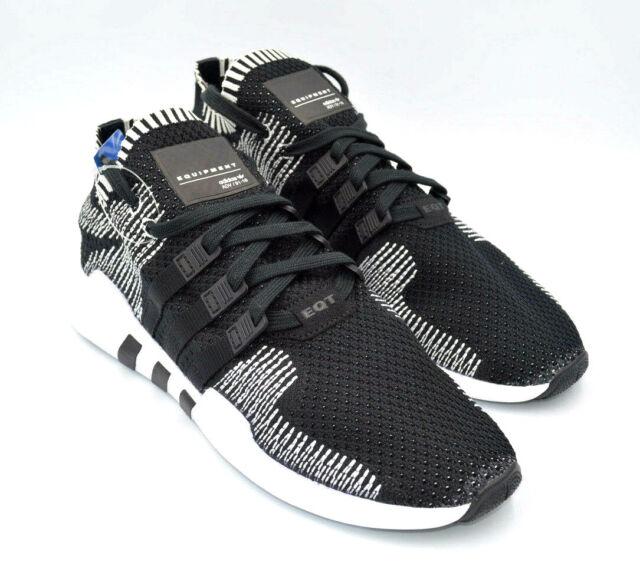 the latest d099e ccbf9 Adidas EQT Support ADV PK Black / White Primeknit Mens Shoes [BY9390] Multi  Size