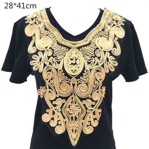 32 Styles Lace Embroidered Neckline Neck Collar Trim Clothes Sewing Applique DIY