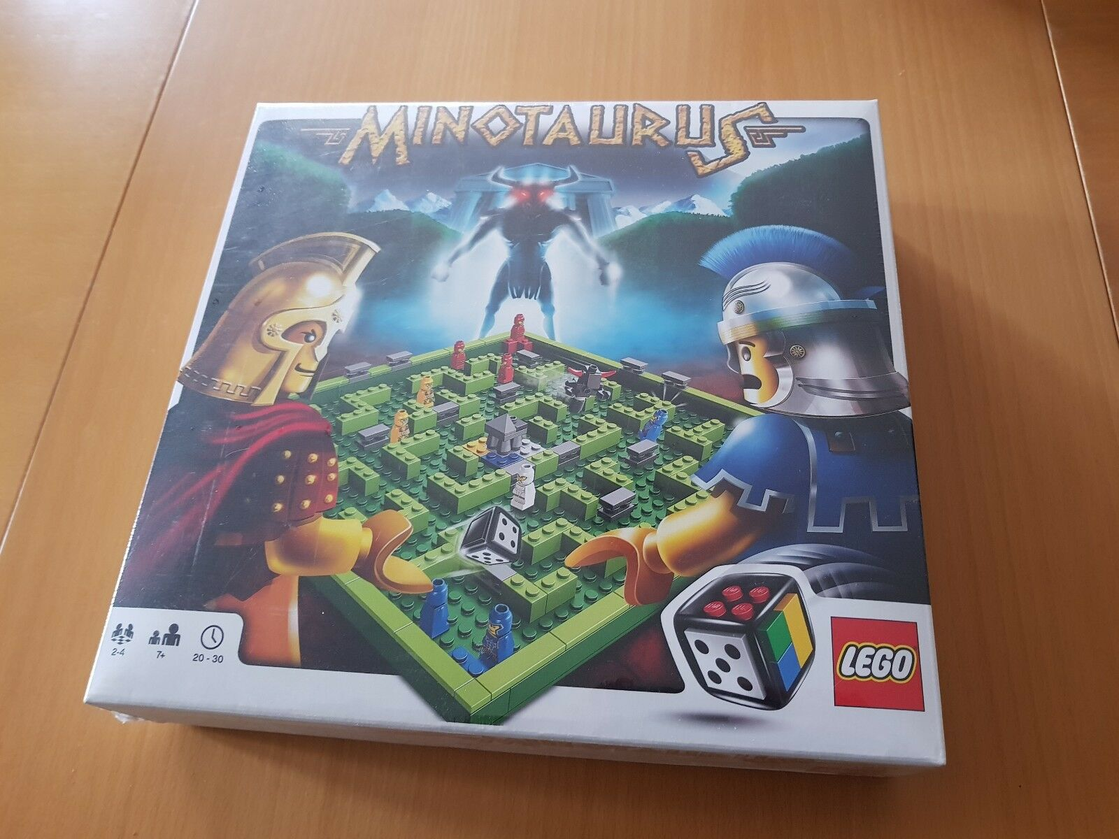 LEGO Spiel Minotaurus 3841 Neu    New Style