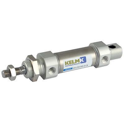 Air pneumatic cylinder ram double effet 100mm course 8mm alésage