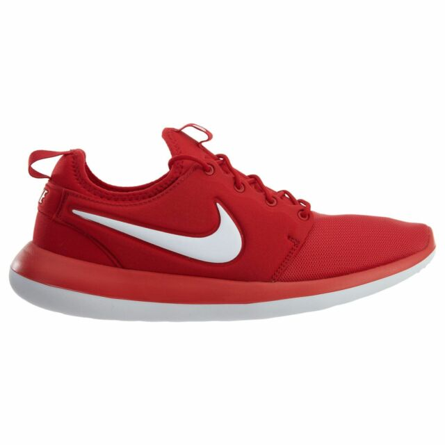 best service bafc4 f377c Nike Roshe Two Mens 844656-601 University Red Textile Running Shoes Size 10