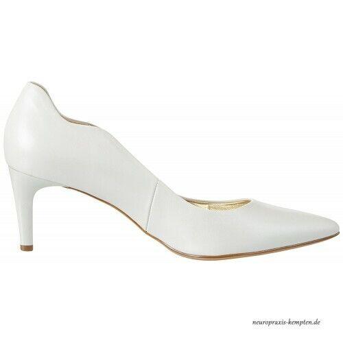 HÖGL Gr. 35 35 35 Damen Schuhe Pumps High Heels Perlweiss