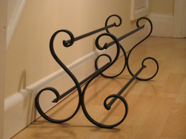 Wrought iron shoe rack, metal, shoe storage, handmade, shoe stand, shoe holder.