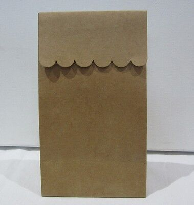 24x BROWN PAPER KRAFT Lolly Candy BAGS Party  Favour Bag - Candy Buffet CRAFT