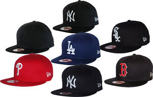 1bdd7d54ff9 La imagen se está cargando New-Era-9Fifty-MLB-Equipo-Gorra-Beisbol-Snapback-