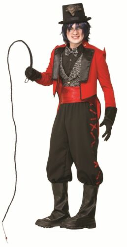 Deluxe Twisted Sinister Ringmaster Costume Circus Lion Tamer Adult Standard Mens