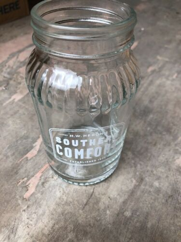 8 X Southern Comfort Jar Glases Brand New Unused CE