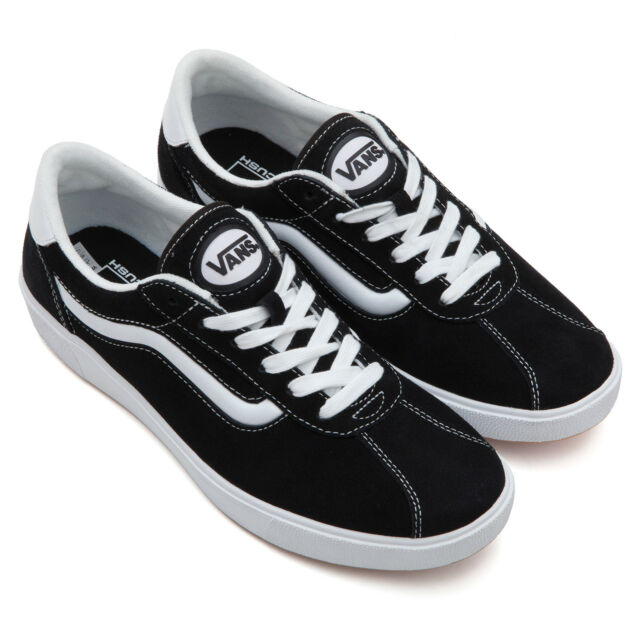 VANS Wally 3 (staple) Black White Suede Shoes Sz 8 Mens   9.5 Womens ... 0dc0639db