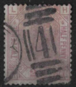 z261-Great-Britain-1873-80-Used-SG-141-2-1-2d-Plate-6-Orb-c-85