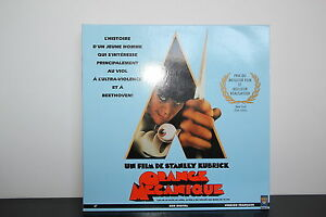 ORANGE-MECANIQUE-WS-VF-COMME-NEUF-PAL-LASERDISC-Malcolm-McDowell-Patrick-Magee