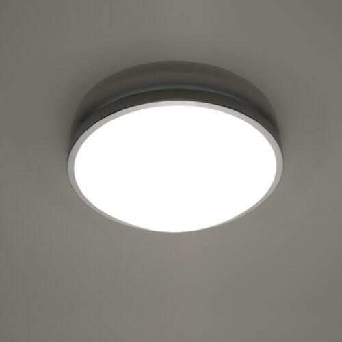Solar E27 Deckenleuchte Deckenlampe Innenleuchte Beleuchtung Modern Glas Chrom