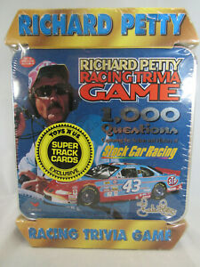 Vintage-Richard-Petty-Racing-Trivia-Game-1-000-Questions-New-in-Plastic