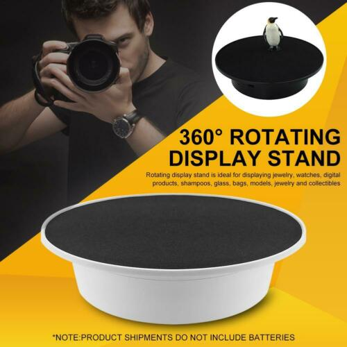 USB Electric Turntable 360 Degree Rotating Display Stand Display Cases